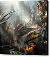 Utherworlds Ashes Canvas Print