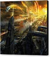 Utherworlds Battlestar Canvas Print