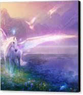 Utherworlds Winter Dawn Canvas Print