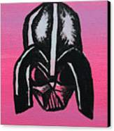 Vader In Pink Canvas Print