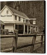 Valley Green Canvas Print by Jack Paolini