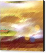 Valleylights Canvas Print