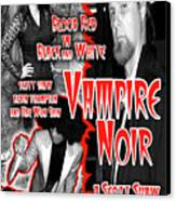 Vampire Noir Canvas Print by The Scott Shaw Poster Gallery