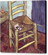 Van Gogh: Chair, 1888-89 Canvas Print by Granger
