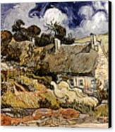 Van Gogh: Cordeville, 1890 Canvas Print by Granger