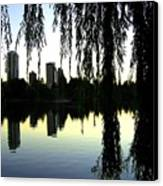 Vancouver- Lost Lagoon Canvas Print by Will Borden