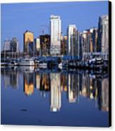 Vancouver Skyline Canvas Print by Alasdair Turner