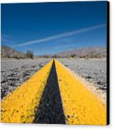 Vanishing Point Canvas Print by Peter Tellone