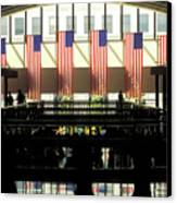 Variations On Old Glory No.8 Canvas Print by John Pagliuca