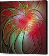 Vase Of Flowers Canvas Print