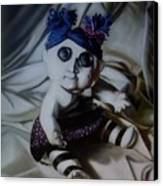 Vashler Baby Doll Canvas Print by Lori Keilwitz