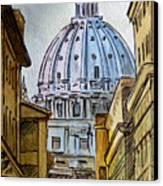 Vatican City Canvas Print by Irina Sztukowski