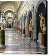 Vatican Museums Interiors Canvas Print by Stefano Senise