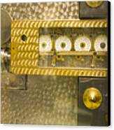 Vault Door Timing Device Canvas Print