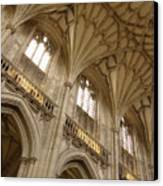 Vaulted Ceiling Canvas Print