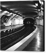 Vavin Station Paris Metro Canvas Print