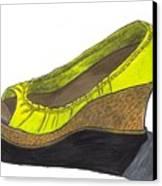 Vegas Shoes Canvas Print