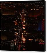 Vegas Strip Canvas Print by D R TeesT