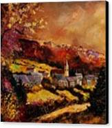 Vencimont Village Ardennes  Canvas Print by Pol Ledent