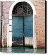 Venetian Door Canvas Print by Italian Art
