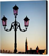 Venetian Sunset Canvas Print by Dave Bowman