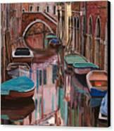 Venezia A Colori Canvas Print