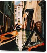 Venice - Gondola Ride Canvas Print
