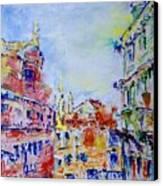 Venice 6-28-15 Canvas Print by Vladimir Kezerashvili