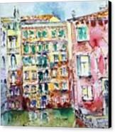 Venice-6-30-15 Canvas Print by Vladimir Kezerashvili