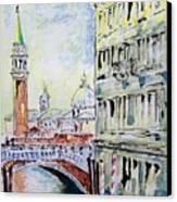 Venice 7-2-15 Canvas Print by Vladimir Kezerashvili