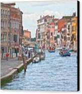 Venice In Pastel  Canvas Print by Heiko Koehrer-Wagner
