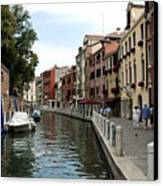 Venice Postcard Canvas Print by Milan Mirkovic