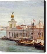 Venice Canvas Print by Sir Samuel Luke Fields