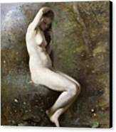 Venus Bathing Canvas Print