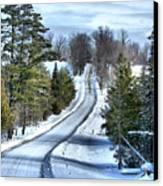 Vermont Country Landscape Canvas Print