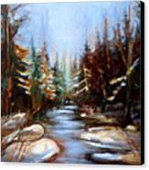 Vermont Stream Canvas Print