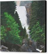 Vernal Falls Canvas Print