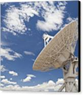 Very Large Array Antenna Canvas Print by Bryan Mullennix