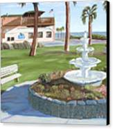Veterans' Park Canvas Print