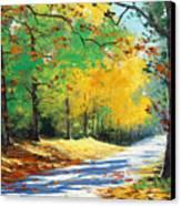 Vibrant Autumn Canvas Print