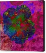 Vibrant Flower Series 1 Canvas Print by Jen White