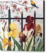 Victorian Garden Canvas Print by Ben Kiger
