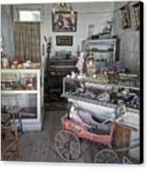 Victorian Toy Shop - Virginia City Montana Canvas Print by Daniel Hagerman