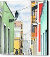 Viejo San Juan Canvas Print