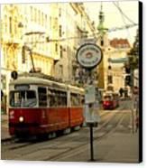 Vienna Streetcar Canvas Print