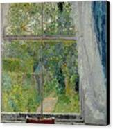 View From A Window Canvas Print by Spencer Frederick Gore