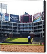 View From Dugout Canvas Print