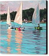 View From Rich's Boat Canvas Print