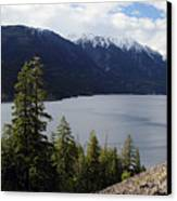 View Of Anderson Lake Canvas Print by Pierre Leclerc Photography
