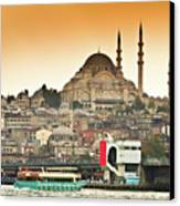 View Of Istanbul Canvas Print by (C) Thanachai Wachiraworakam